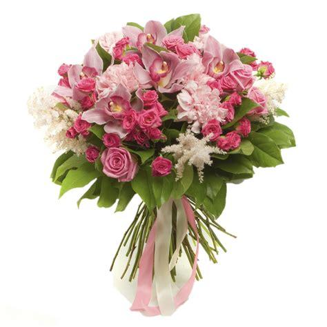 di fiori soffice e delicato mazzo di fiori rosa consegna a
