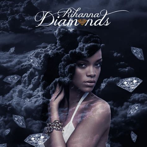 Rihanna Diamonds By Orkunsezer On Deviantart