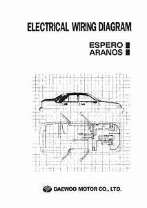 Daewoo Nexia Cielo Racer Ii Electrical Wiring Diagram
