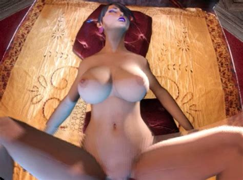 Fantasy Style Girl CGI Animated Missionary Position Sex