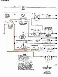 Craftsman Lawn Tractor Wiring Schematic Mower Diagram Electrical Riding On S On Craftsman Riding