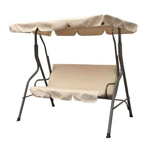 3 Person Porch Swing by 3 Person Outdoor Porch Patio Swing Canopy Seat Yard