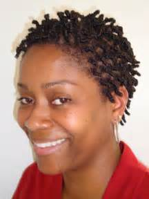 Short Two Strand Twist Natural Hairstyles