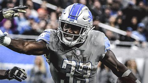 lions news kerryon johnsons workload   limited