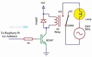 12v Dc Relay Control From Raspberry Pi