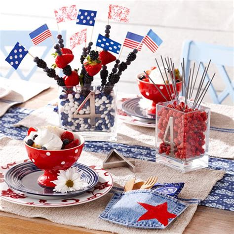 4th of july table centerpieces 13 cool ideas of 4th of july table decorations digsdigs