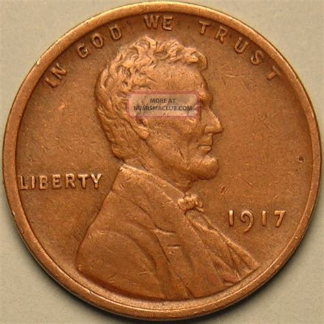 wheat value 1917 p lincoln wheat penny ab 319