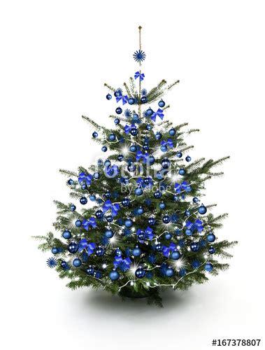 Weihnachtsbaum Blau Geschmückt by Quot Blau Geschm 252 Ckter Weihnachtsbaum Quot Stockfotos Und