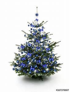 Geschmückter Weihnachtsbaum Fotos : blau geschm ckter weihnachtsbaum stockfotos und ~ Articles-book.com Haus und Dekorationen