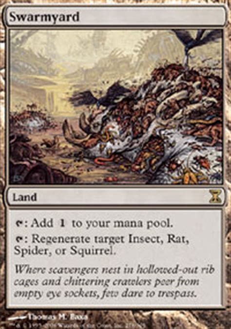Pack Rat Deck Mtg by Swarmyard Time Spiral Magic The Gathering