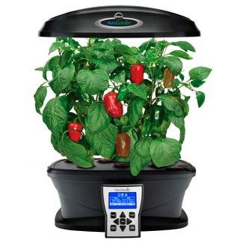 aerogarden ultra indoor garden with gourmet