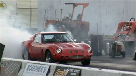 drag racing ferrari  gto clone engine swap depot