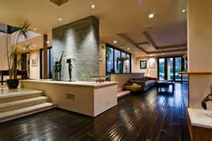 Modern Home Interiors Pictures Big Contemporary House With Interior Filled With Light Digsdigs