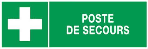 bureau express poste de secours panneaux de signalisation et signaletique