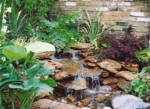 22 beautiful waterfalls for natural backyard and front for Backyard water features for small yards