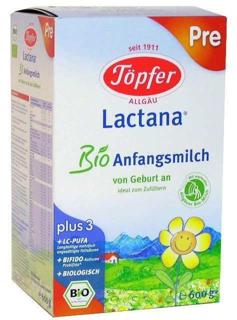 Topfer - Lactana Bio Pre
