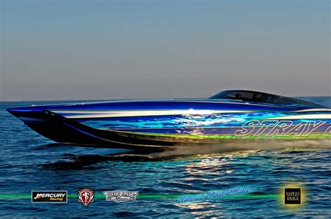 Cigarette Boat Poster by Miami Boat Show 2013 P H O T O S Page 2 Offshoreonly