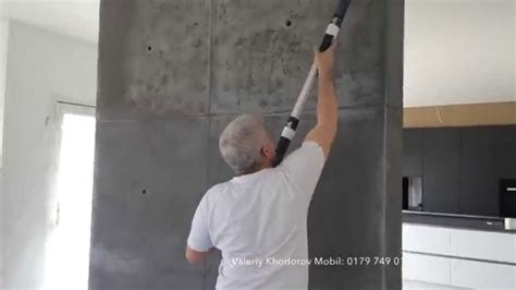 betonoptik betonimitation koblenz youtube