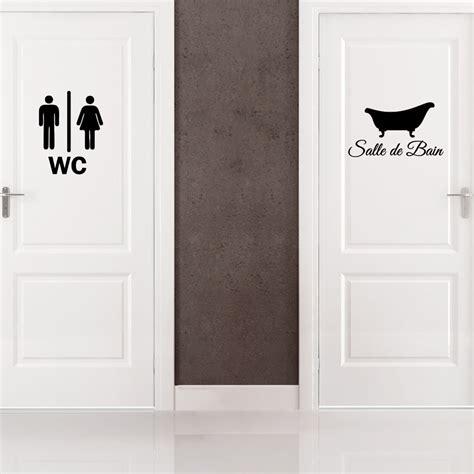 stickers porte de cuisine sticker porte salle de bain et wc stickers salle de bain