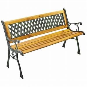 Banc En Bois Pas Cher : banc de jardin topiwall ~ Preciouscoupons.com Idées de Décoration