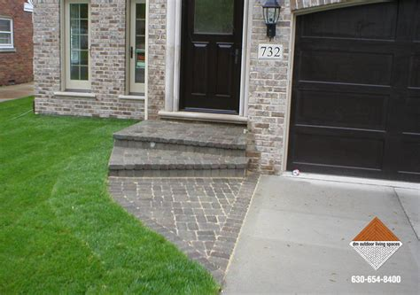 front entry steps pictures stone driveways stone entry walkways d m outdoor living spaces