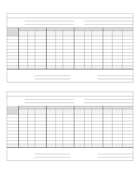 netball score sheet free