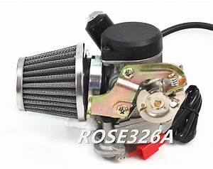 Carburetor  U0026 Air Filter For 50cc Verucci Qingqi Qm50qt