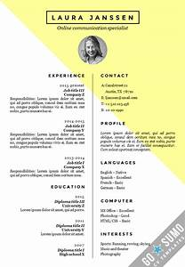 cv resume template stockholm With cv format template word