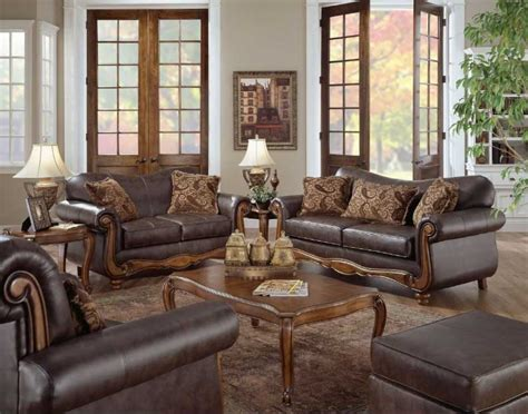 faux leather living room set real leather living room sets 11208