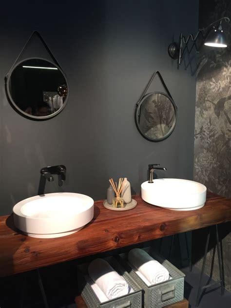 edge wood double vanity home decorating trends