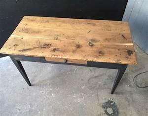 Table Bistrot Ancienne : table bistrot ancienne des ann es 20 30 bois et m tal ~ Melissatoandfro.com Idées de Décoration