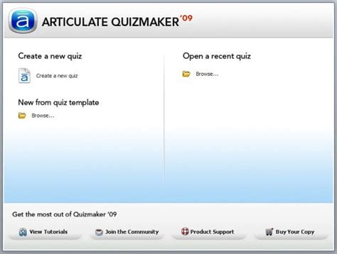 Make A Test Template by Articulate Quizmaker Create Quizzes Surveys And