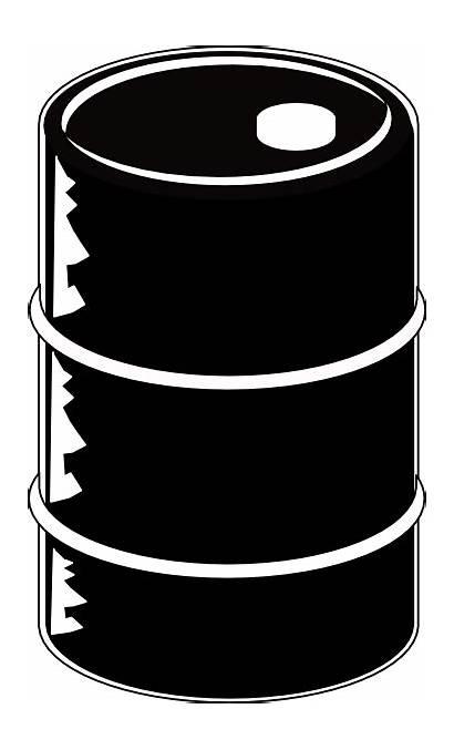 Barrel Oil Clipart Clip Crude Drums Vector