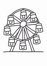 Ferris Wheel Coloring Pages Colouring Designlooter 794px 54kb sketch template