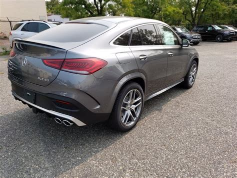 The gle meets bharat stage vi equivalent emission norms. New 2021 Mercedes-Benz AMG GLE 53 4MATIC Coupe SUV | Selenite Grey 21-121