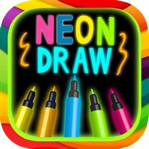 App Neon drawing APK for Kindle