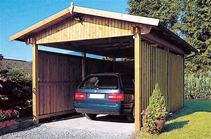 Fundament Mit Betonplatten : carport aus holz gartenhaus carport ~ Articles-book.com Haus und Dekorationen