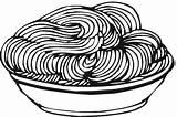Coloring Spaghetti Pages Sheet Template Noodles Meatballs Delicious Children Espaguetis Dozens sketch template