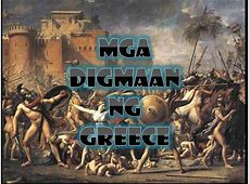 Digmaan Ng Greece New authorSTREAM
