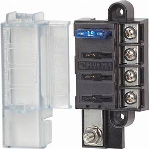 St Blade Compact Fuse Blocks - 4 Circuits