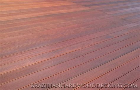 massaranduba hardwood decking