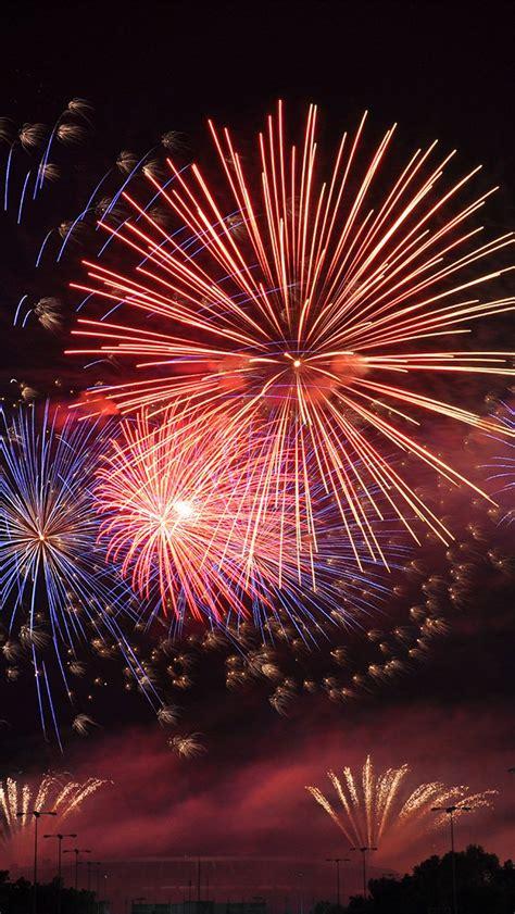 papersco iphone wallpaper nb firework night art city