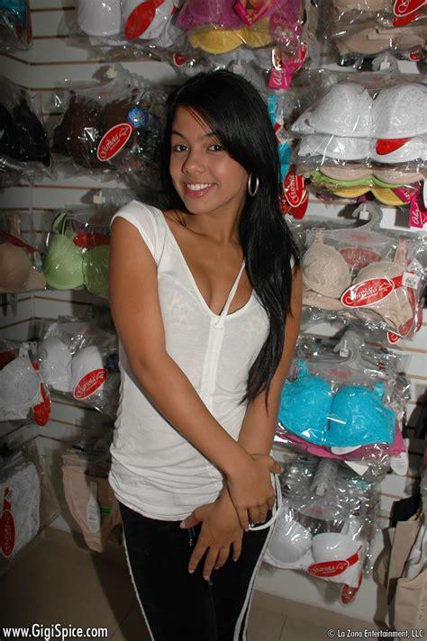 Teen Latin Porn Star Cruising A Lingerie Shop Xbabe