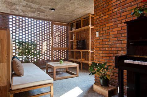 inspirasi pengunaan batu bata ekspose  desain rumah modern