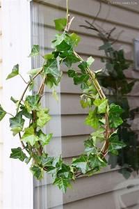 Kränze Binden Efeu : diy herbst winter efeu kranz deko herbst dekoration ~ Watch28wear.com Haus und Dekorationen