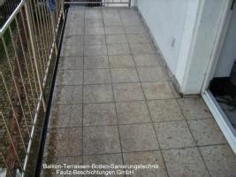 Balkonsanierung, Terrassensanierung, Betonsanierung