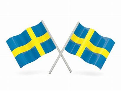 Sweden Flags Flag Wavy Icon Reverse Non
