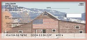 Americana barns personal checks for Barn checks