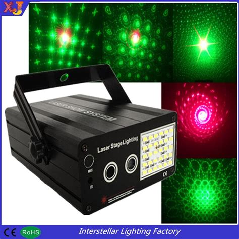 Cheap Price Mini Projector Red Green Disco Strobe
