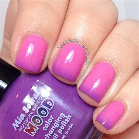 Design Purple And Pink by 80 Nail Designs For Nails Abbuzz